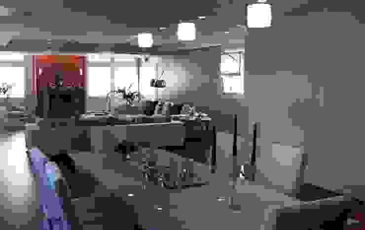 Casa Iasoni Sala da pranzo moderna di Pier Maria Giordani Architetto Moderno