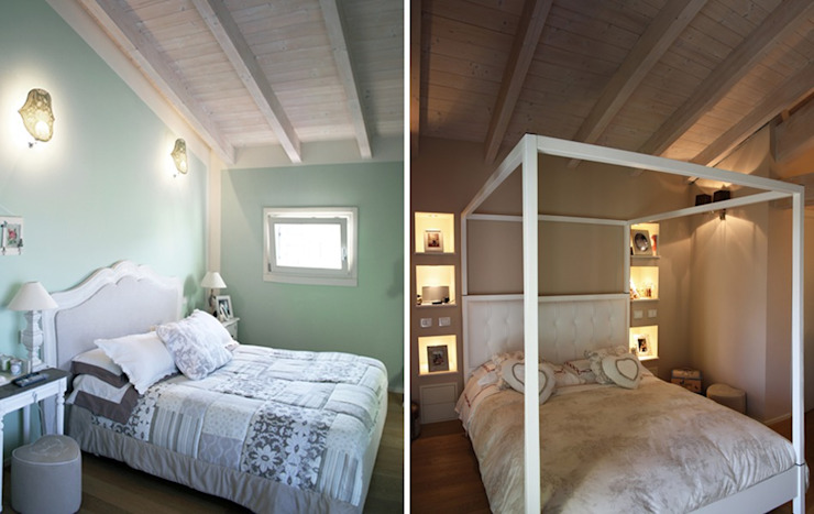 Casa Iasoni Camera da letto moderna di Pier Maria Giordani Architetto Moderno