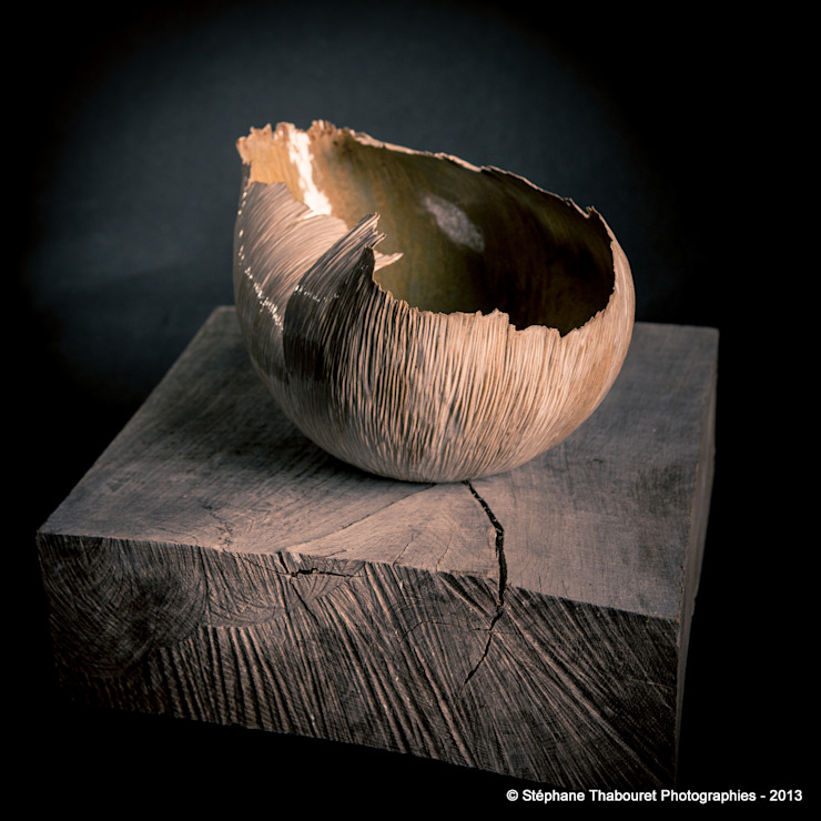 Céramique de grès de l'atelier sur la rivère par sylvain FEZZOLI céramiste par ATELIER SUR LA RIVIÈRE Éclectique