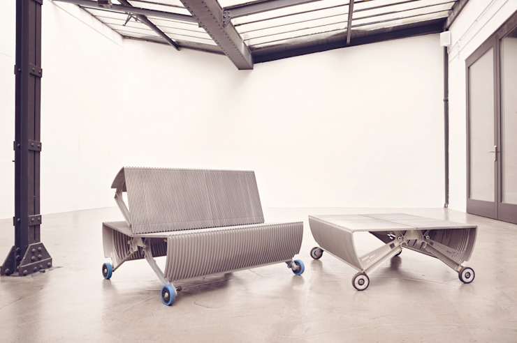 de_escalator: industriell  von gabarage upcycling design,Industrial