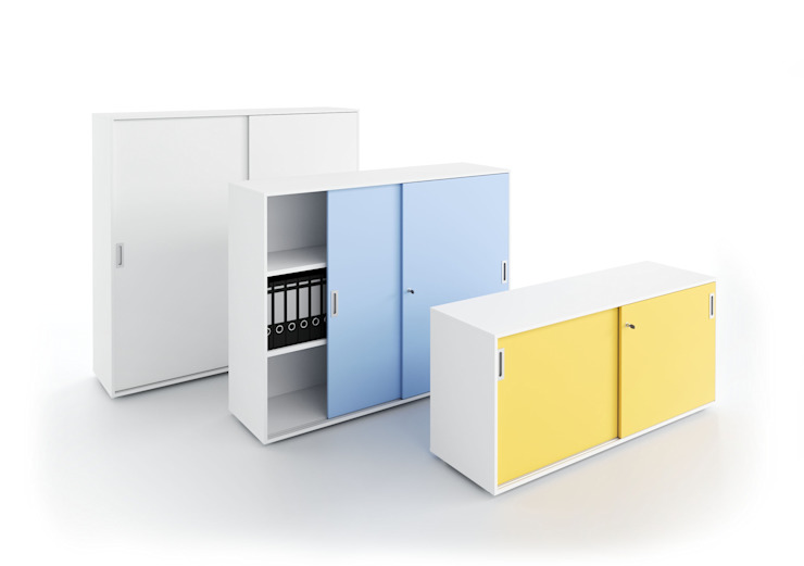 DV545 - Storage units with sliding doors de DVO S.P.A. Moderno