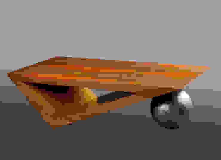 """table basse """"Poids et mesures"""" par julien lachaud par julien lachaud ébéniste Moderne"""