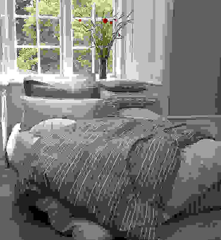 Cool Nordic Bedding Style: scandinavian  by TrueStuff, Scandinavian