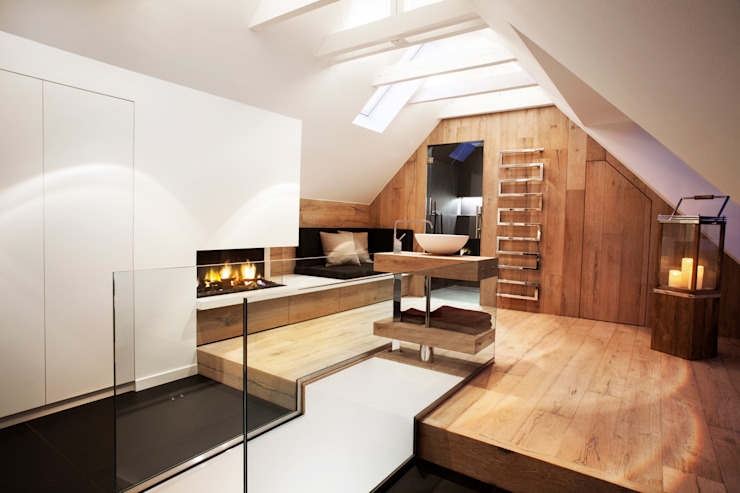 Ванная комната в стиле модерн от schulz.rooms Модерн