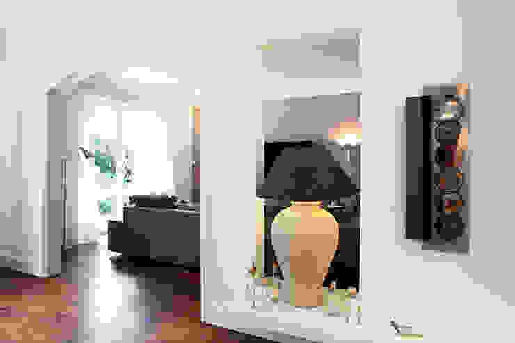 Einfamilienhaus Moderne Wohnzimmer von schulz.rooms Modern