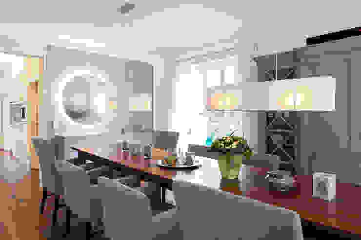 Einfamilienhaus Moderne Esszimmer von schulz.rooms Modern
