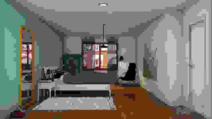 El nuevo piso de Christina y su familia Dormitorios de estilo escandinavo de Diseñadora de Interiores, Decoradora y Home Stager Escandinavo
