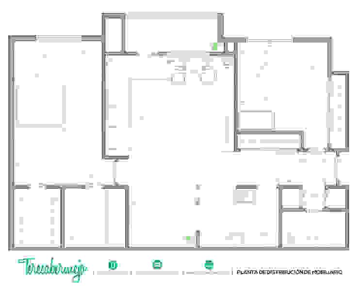 El nuevo piso de Christina y su familia de Diseñadora de Interiores, Decoradora y Home Stager Escandinavo