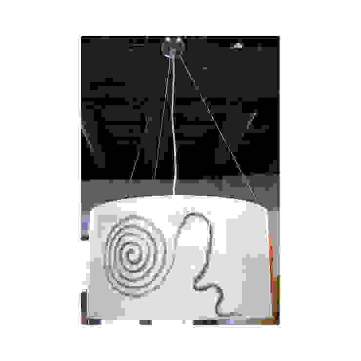 lampada da soffitto 202 di Elena Kihlman Minimalista Sintetico Marrone