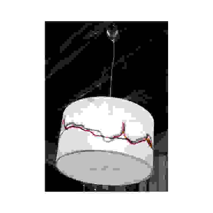 Lampada da soffitto 225 di Elena Kihlman Minimalista Sintetico Marrone