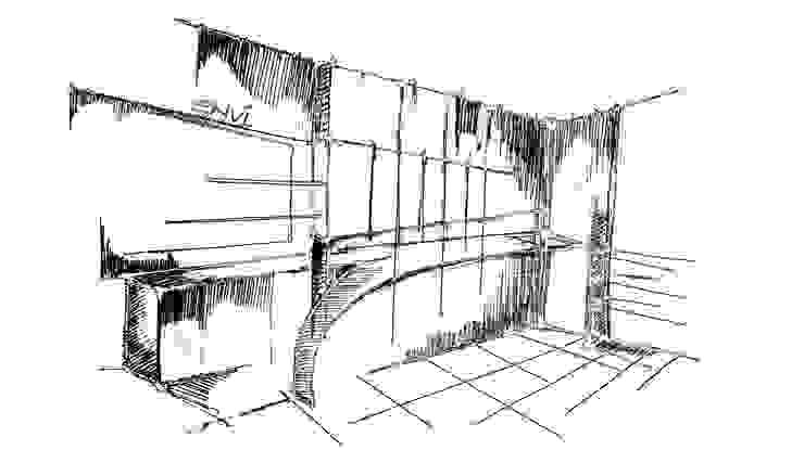 sketch by The blue Lane Designs Modern
