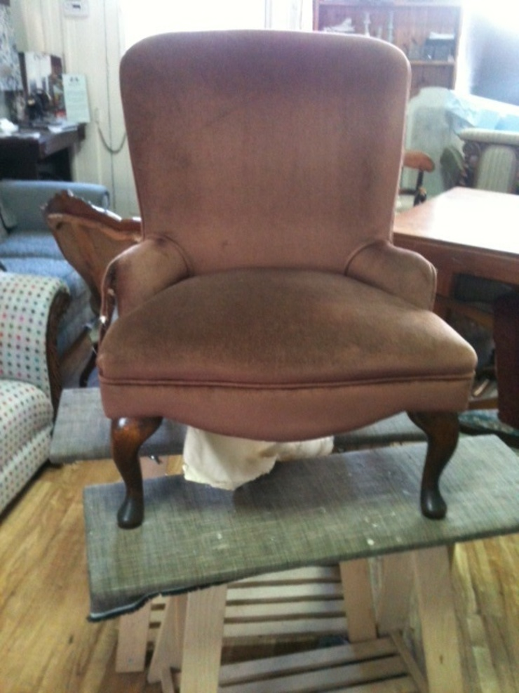 1960,s—70,s bedroom chair: eclectic  by handmade, Eclectic