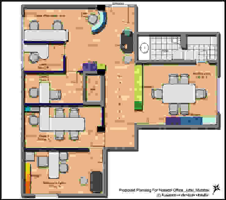 Plan: minimalist  by kaamya design studio,Minimalist