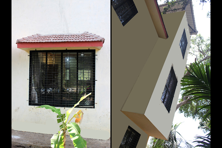 Bunglow exterior by kaamya design studio
