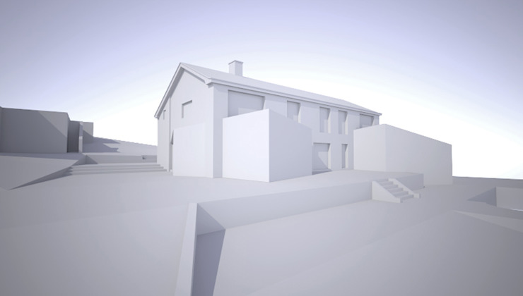 ​A 3D model for the renovation and extension of this luxury home by ArchitectureLIVE ArchitectureLIVE