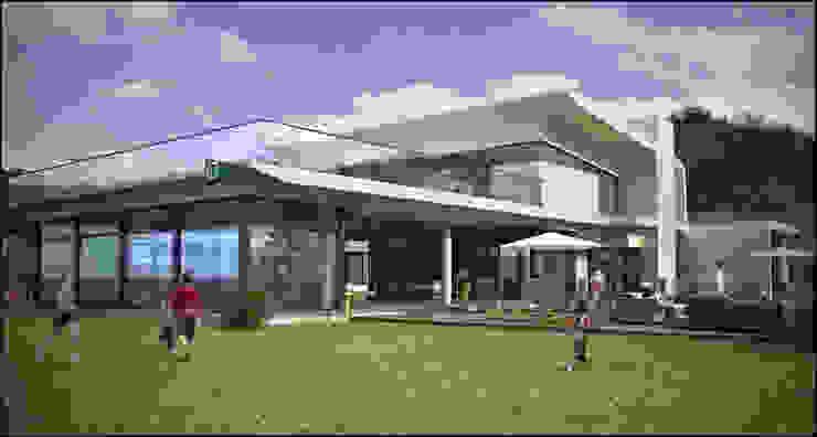 EDIFICIO SOCIAL CLUB MARÍTIMO Bares y clubs de estilo moderno de Antonio Piedrafita Arquitecto Moderno