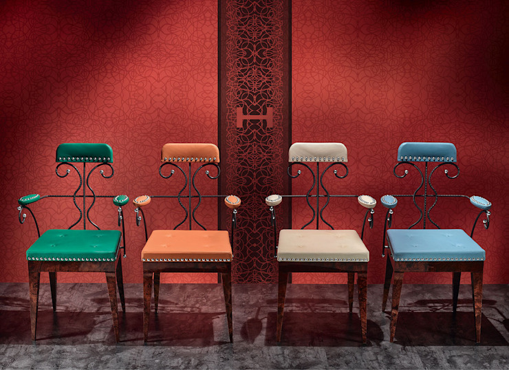 Chairs by REINER HEBE MODERN CLASSIC ARTWORK
