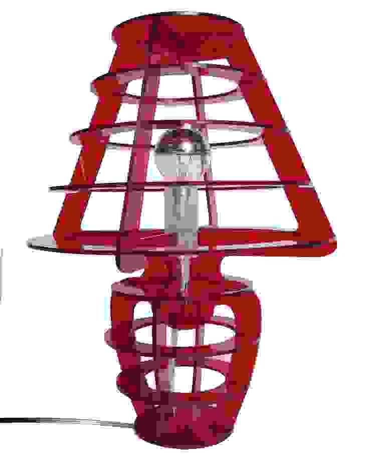 Babba, lampada da tavolo in metacrilato. di Pupi Catania Etna B&B