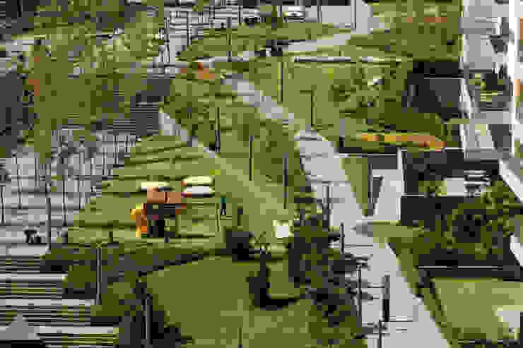 Parque Vidalta Jardines modernos de Serrano Monjaraz Arquitectos Moderno