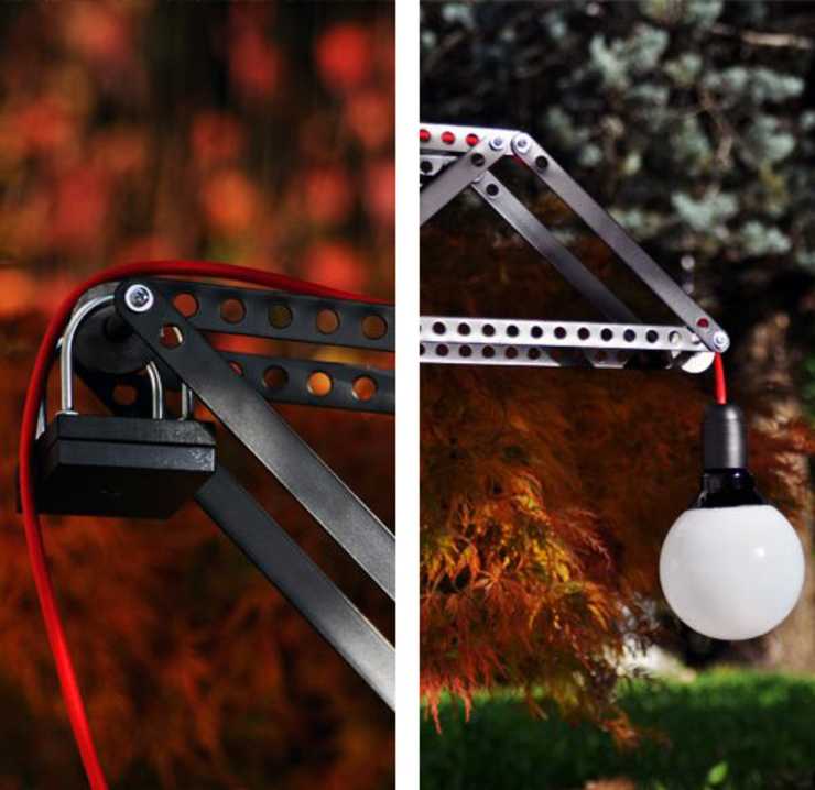Delivers light:  in stile industriale di Punto Soave, Industrial