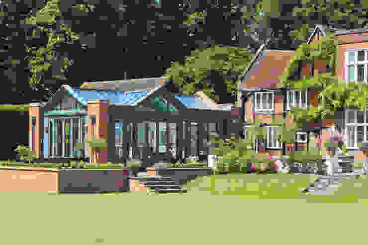 Large Kitchen Conservatory Modern conservatory by Vale Garden Houses Modern