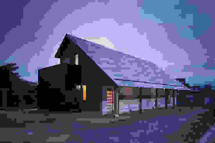 D-house exterior 日本家屋・アジアの家 の Ground Design Co,. Ltd. 和風