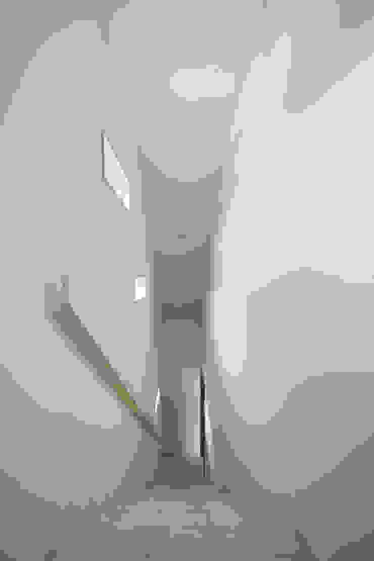 D-house 階段室 モダンスタイルの 玄関&廊下&階段 の Ground Design Co,. Ltd. モダン