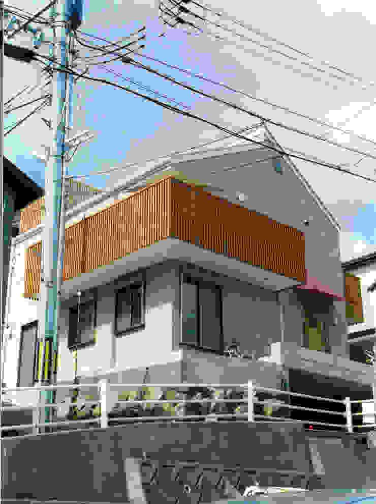 瀬戸内海に向いた外観 オリジナルな 家 の フォーチュン建築設計株式会社 オリジナル