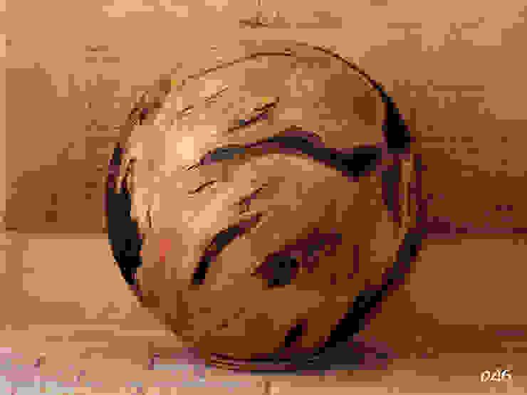 Holzkugel Süßkirsche von Thomas Baumgärtner
