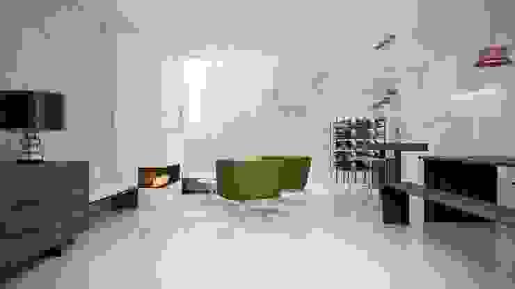 by Gramil Interiorismo II - Decoradores y diseñadores de interiores Мінімалістичний