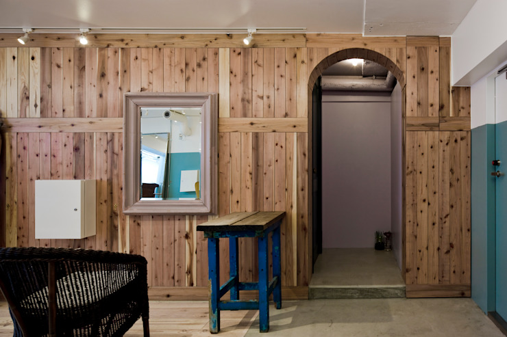 case.work. Rustic style offices & stores