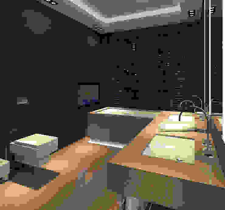 Modern Banyo dziurdziaprojekt Modern