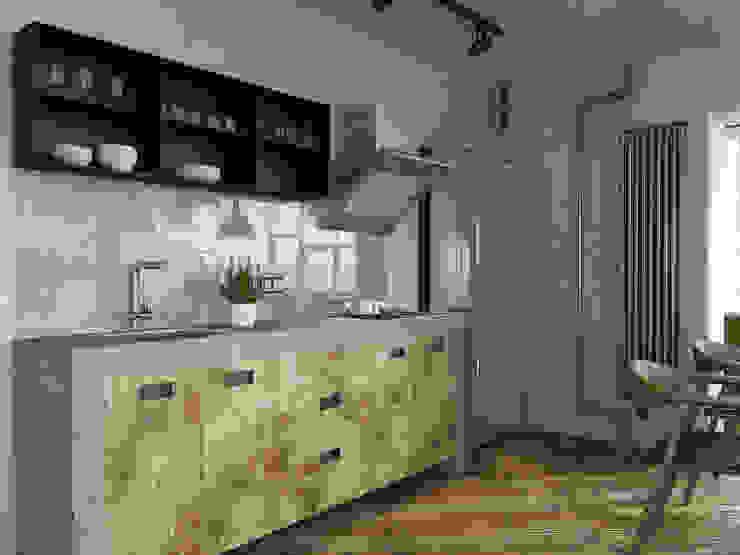 Keuken door homify, Industrieel