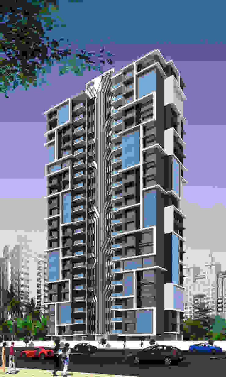 ARCHITECTURAL EXTERIOR VIEWS: modern  by NEX LVL DESIGNS PVT. LTD.,Modern