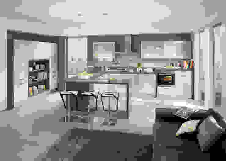 Kiveda Deutschland GmbH 現代廚房設計點子、靈感&圖片