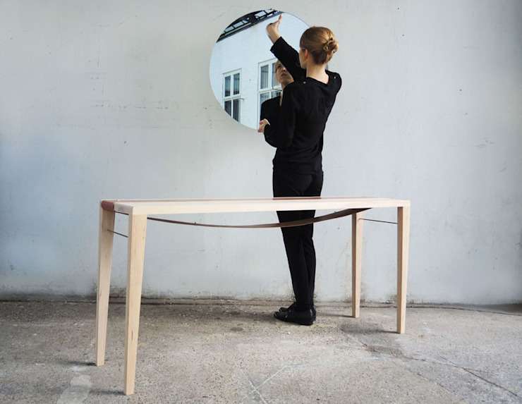 Sunrise Table: modern  by EK Design, Modern