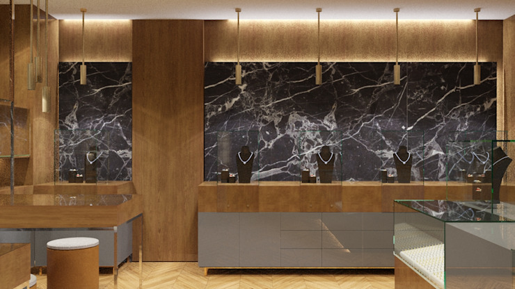 JEWELRY SHOP DESIGN FARGO DESIGNS Modern