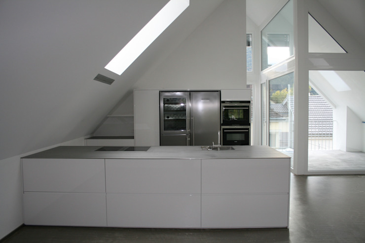 EFH Rosamilia Chur hogg architektur Moderne Küchen