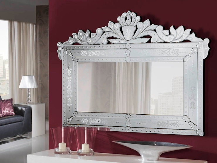 Espejo Veneciano Danubio de Ámbar Muebles Clásico