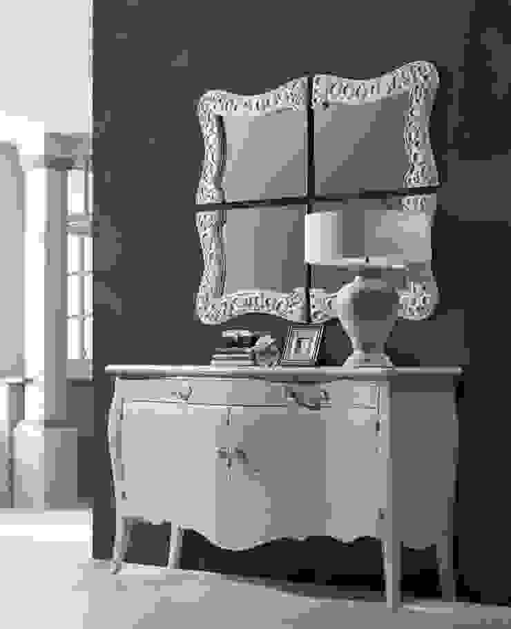 Espejo Vintage Blanco Nabil de Ámbar Muebles Clásico