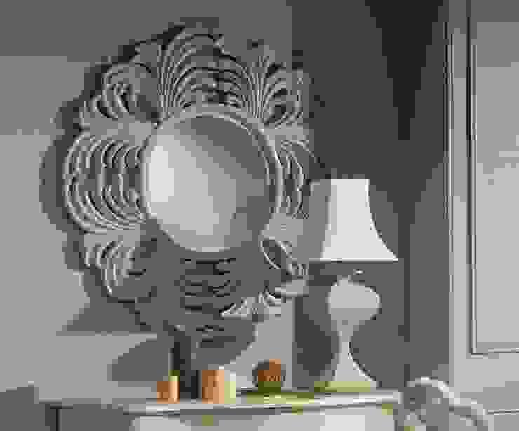 Espejo Vintage Blanco Estambul de Ámbar Muebles Clásico