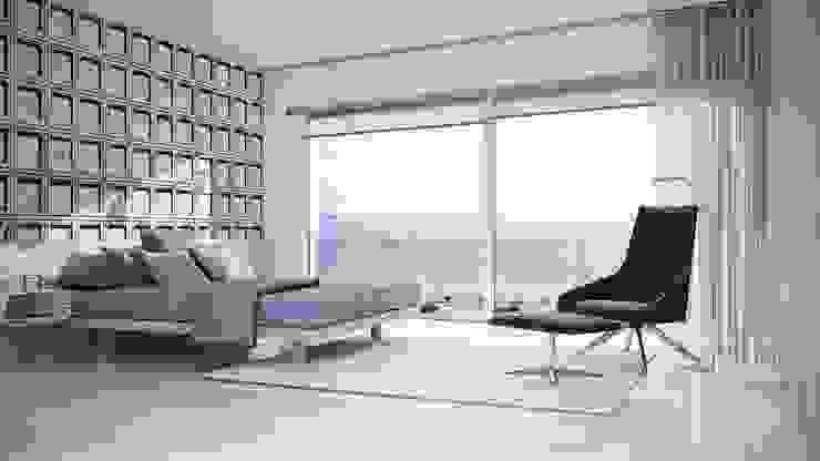 Dormitorio suite Dormitorios minimalistas de Gramil Interiorismo II - Decoradores y diseñadores de interiores Minimalista