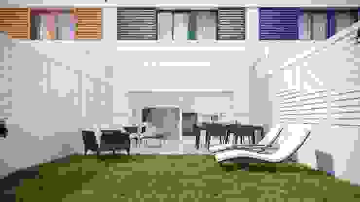 Jardín Jardines minimalistas de Gramil Interiorismo II - Decoradores y diseñadores de interiores Minimalista
