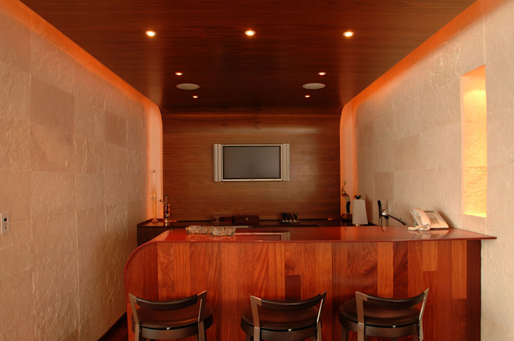 PH B Las Nubes Dapur: Ide desain interior, inspirasi & gambar Oleh ARCO Arquitectura Contemporánea