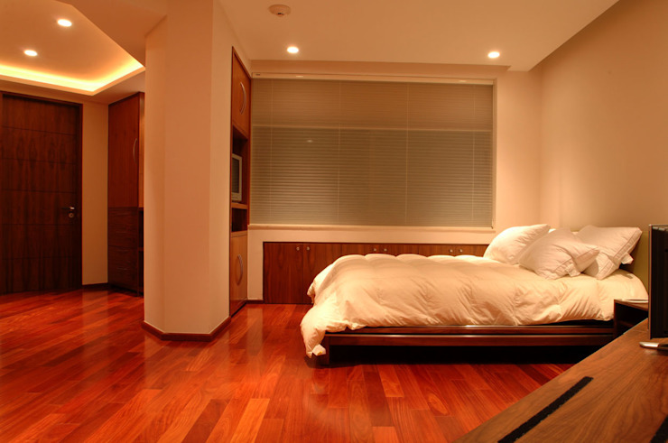 Bedroom by ARCO Arquitectura Contemporánea ,