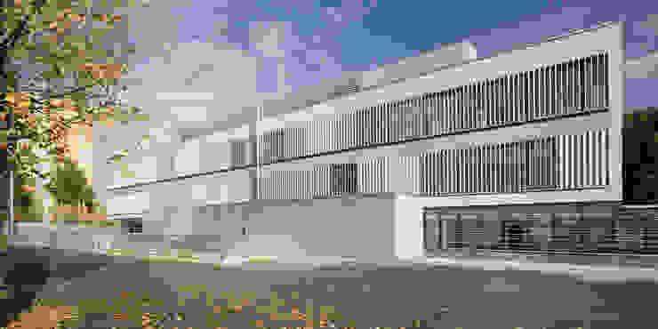 Comisaría de los Mossos d'Esquadra de Jordi Farrando arquitecte Moderno