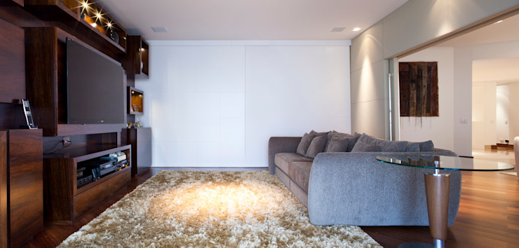 Eclectic style media rooms by ArkDek Eclectic