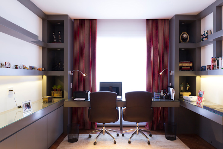 Dormitorios de estilo ecléctico de ArkDek Ecléctico
