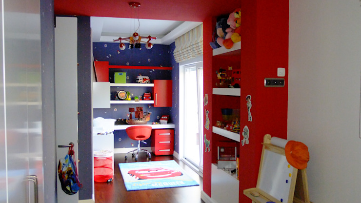 Nursery/kid's room by EDMİMARLIK INTERIOR STUDIO, Modern