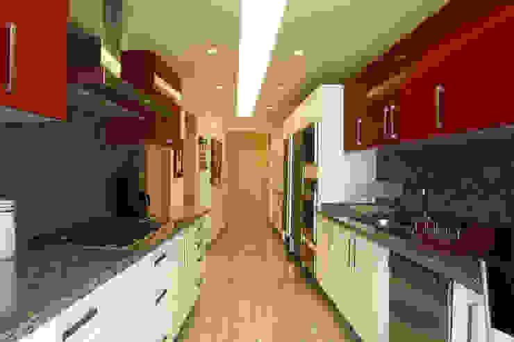 Departamento Vertientes Cocinas de ARCO Arquitectura Contemporánea